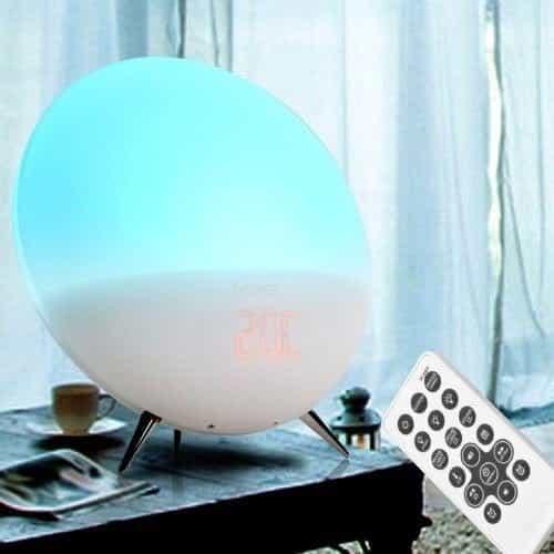 denver electronics crl-310 wake up light with Blue light