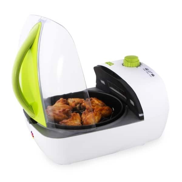 jml jet hot air fryer open lid
