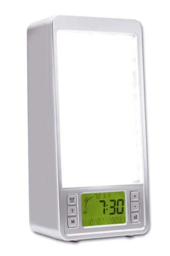 srs 320 2 in 1 natural wake up light with 10000 lux