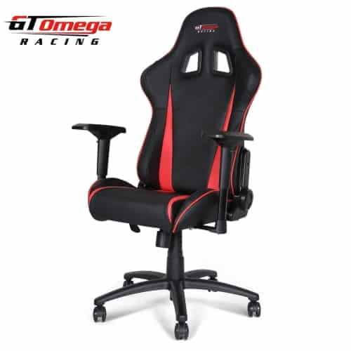 gt omega pro OC-F0013 gaming office chair front angle view