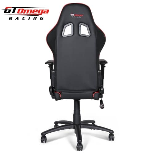 gt omega pro OC-F0013 gaming office chair rear view