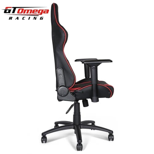 gt omega pro OC-F0013 gaming office chair side view