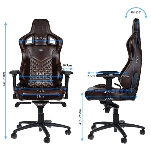 noblechairs epic dimensions