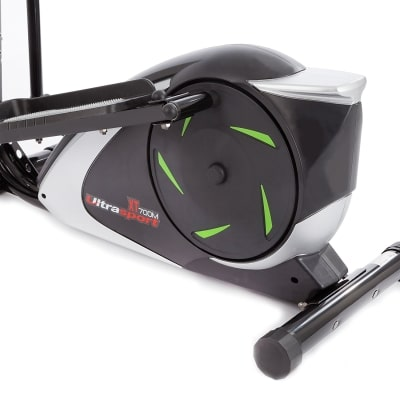 Ultrasport XT Trainer 700M 800A Cross Trainer Elliptical Trainer with Hand Pulse Sensors incl Drinking Bottle close up