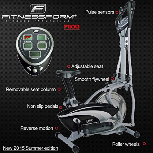 fitnessform p1100 cross trainer features