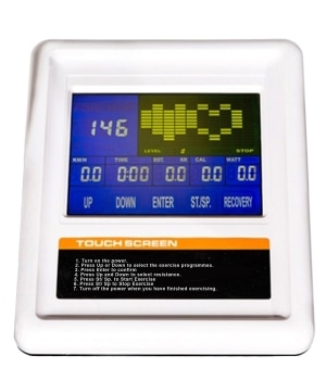 jtx strider x7 cross trainer touch screen colour monitor