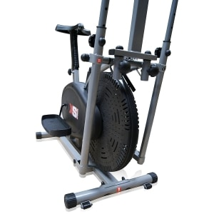pro xs sports elliptical cross trainer front close up view