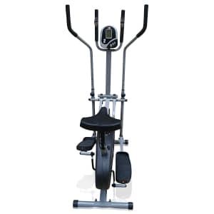 pro xs sports elliptical cross trainer rear view