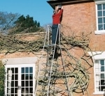 Henchman Maxi Hi Steps Aluminium Garden Ladder