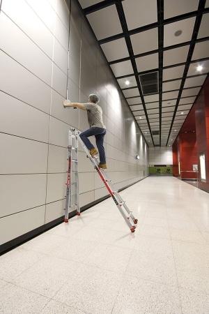 Little Giant 6 Rung Revolution XE 90 Degree Aluminium Multi Purpose Ladders