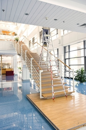 Little Giant 6 Rung Revolution XE Awkward Places Aluminium Multi Purpose Ladders