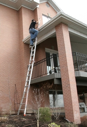 Little Giant 6 Rung Revolution XE Outdoor Long Aluminium Multi Purpose Ladders