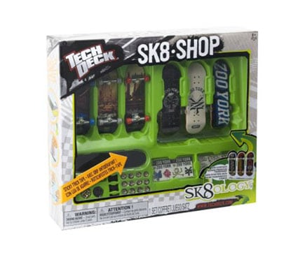 Tech deck fingerboards display