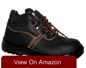 MENS WORK BOOTS, MENS STEEL TOE CAP SAFETY BOOT GR96 BY GROUNDWORK
