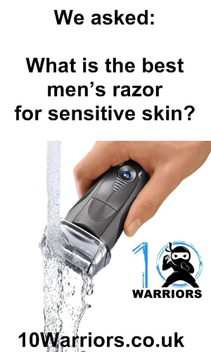 what is the best mens electric razor for sensitive skin