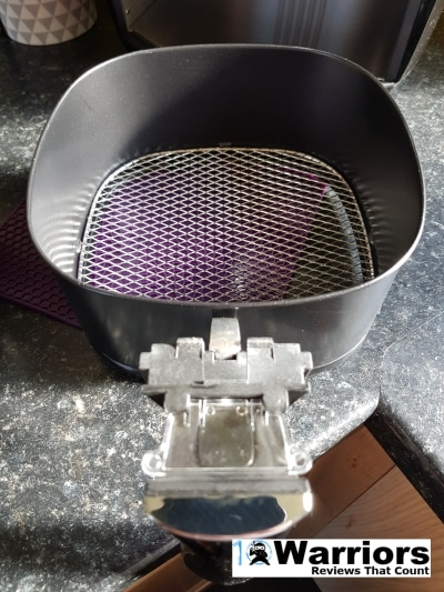 Duronic AF 1 air fryer mesh metal tray