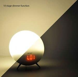 denver electronics crl-310 wake up light 10 stage dimmer function