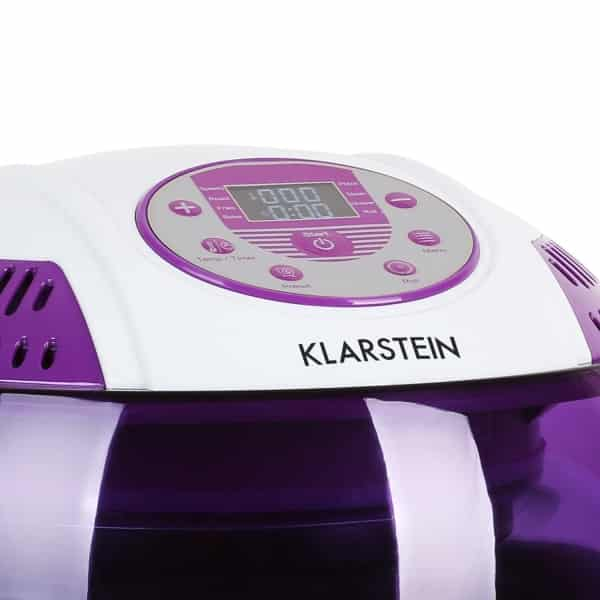 klarstein vitair turbo halogen broiler air fryer closeup