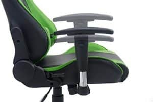 ctf pro gaming chair close up side adjustable arms