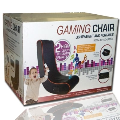 cyber rocker folding gaming chair box view