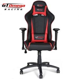 gt omega pro OC-F0013 gaming office chair front view