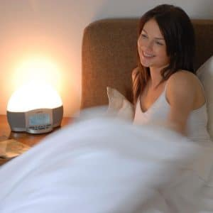 lumie elite 300 wakes you up with a smile