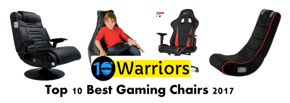 top 10 best gaming chairs 2017