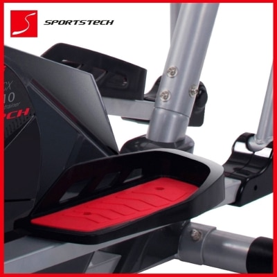 Sportstech CX610 professional crosstrainer with Smartphone App bluetooth and quality feetpad
