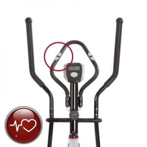 Ultrasport XT Trainer 700M 800A Cross Trainer Elliptical Trainer with Hand Pulse Sensors incl Drinking Bottle comes with heart rate monitor