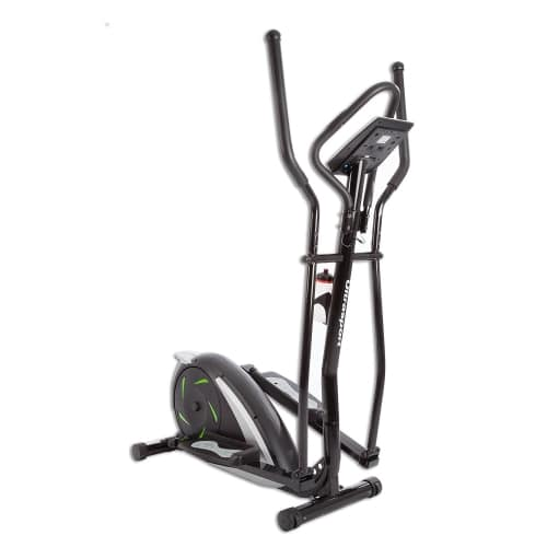 Ultrasport XT Trainer 700M 800A Cross Trainer Elliptical Trainer with Hand Pulse Sensors incl Drinking Bottle front angle view