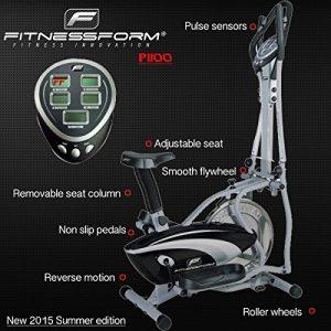 fitnessform p1100 cross trainer features