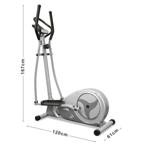 jll ct300 luxury cross trainer dimensions