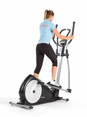 jtx strider x7 cross trainer rear angle view