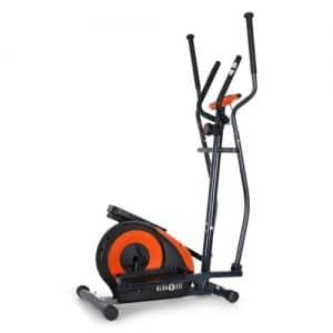 klarfit ellifit black and orange cross trainer