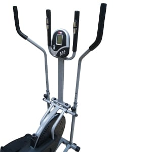 pro xs sports elliptical cross trainer handles close up view