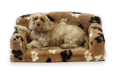 fur paws faux fur pet sofa