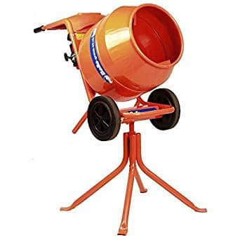 Belle Minimix 150 petrol cement mixer with stand