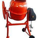 foxhunter 120 litre electric cement mixer