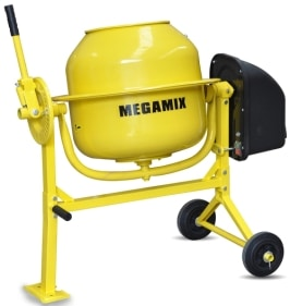 megamix 70 litre cheap cement mixer