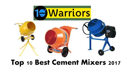 top 10 best cement mixers 2017
