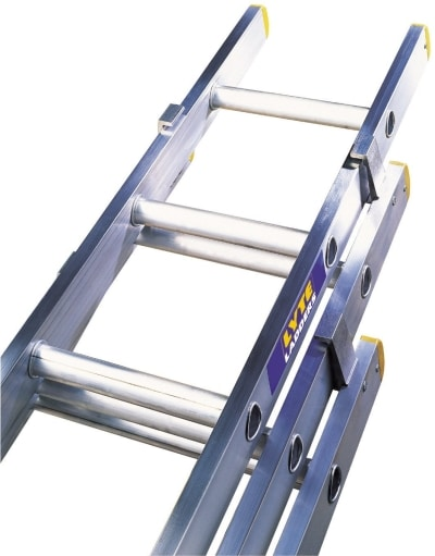 3 section trade ladder 10 rung lyte ladders