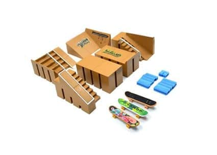 Creation Skate park for fingerboards