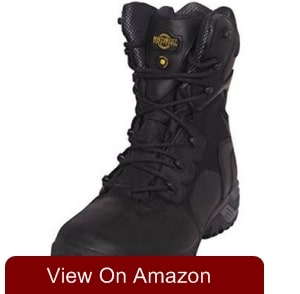 nw territory Mens leather boots HYDRY membrane combat patrol police security army