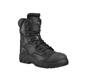 magnum rigmaster safety boots waterproof with side zip