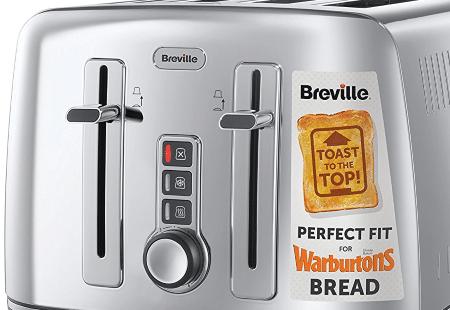 breville vtt571 - 4 slice toaster