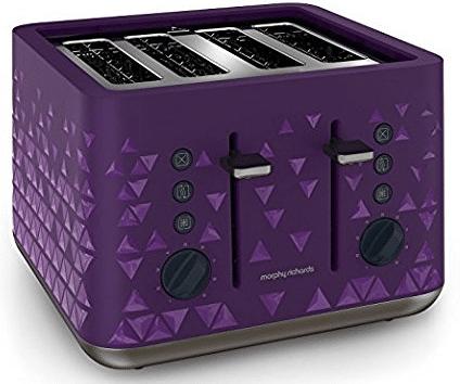 morphy richards 248107 prism 4 slice toaster