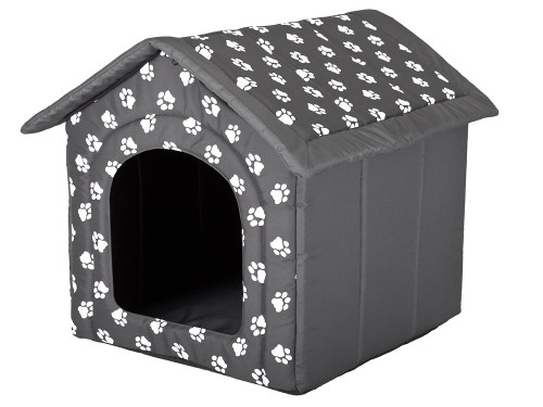 hobbyhouse dog house bed with paw print