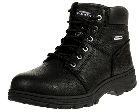 skechers relaxed fit hiking safety boots