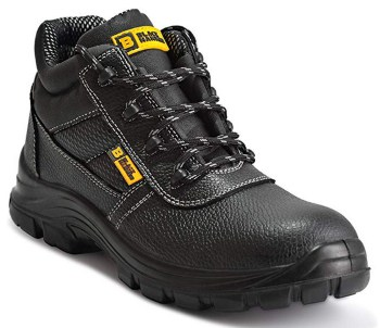 Black hammer mens safety waterproof construction work boots
