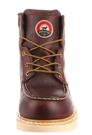 irish setter mens aluminum toe work boot front